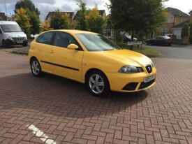 2007 (57) Seat Ibiza 1.2 12v Reference Sport 3 Dr Petrol Manual Gearbox Only 78000 Miles Full Mo