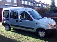 Renault Kangoo Authentique Mobility Vehicle. 2004
