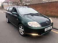2003 TOYOTA COROLLA ESTATE 1.6 ONLY £1450