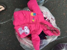 Large bag of baby clothes age 12-18 months