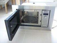 Neff stainless steel intergrated microwave oven