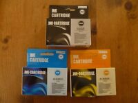 Printer Ink Cardridges x 5