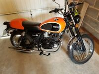 Great condition Herald 125cc with remainder of manufacturers warranty
