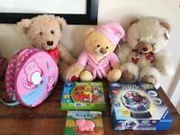 Toys, teddy & rucksack bundle. Children's - £10 for everything‼️