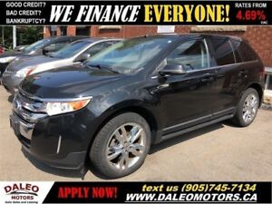 2012 Ford Edge Limited| LEATHER|BACKUP CAM|PANO ROOF| NAV