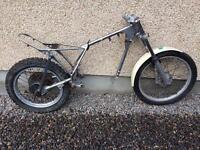 Suzuki Beamish trials chassis