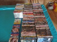 140 DVD's and 4 Blu Rays - all good titles and in very good condition £80 the lot