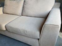 M & S marks and spencer 2 seater fabric sofa