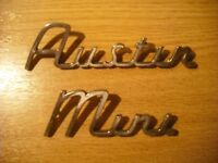 Austin mini badges