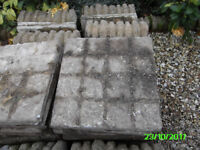 Free paving slabs and edging