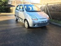 Chevrolet Matiz SE plus1.0- 5 Doors, Mot SEP 18, Mint condition, Miles 84396 with service History