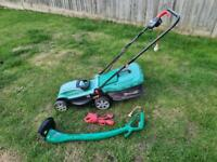 Qualcast Electric Lawn Mower & Strimmer