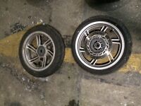 Honda sh 125i abs 2016 modelset of wheels and tyres
