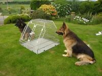 tryform two compartment dog cage