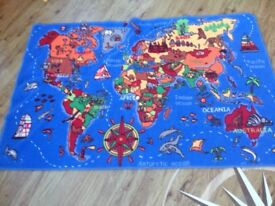 Kids world rug