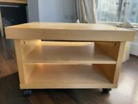 TV stand / Coffee Table with castors