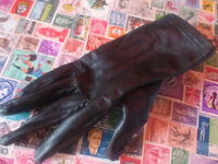 FOUND - Women's glove (black leather) in Norfolk St, BN11 (opposite Victoria Park)