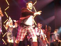 School of Rock tickets x 2, New London Theatre, Drury Lane, London, 3pm Sun 13 May £115