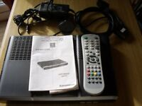 SAGEMCOM Digital TV Receiver/Recorder with Hard Disc and Double Tuner