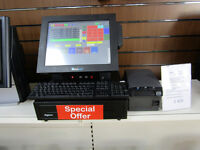 Epos till system for restaurant, cafe, offlicence, shop. Cash till register.