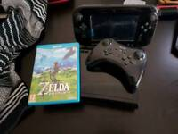 Wii u premium edition with Zelda and pro controller