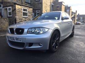 Quick Sale BMW 120D M Sport Manual Silver Service History not audi vw mercedes