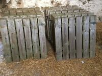 20 x Handmade Garden Gates including hinges and locking bolts 3ft x 3ft