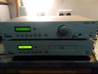 Acoustic Solutions SP111 DAB/FM Tuner + SP122 CD Player + Remote + Instruction Manuals