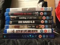 Blu-ray DVDs x 7 BARGAIN