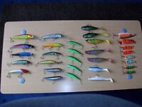 FISHING ACCESSORIES 31 BRAND NEW PIKE LURES WITH BOX