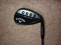 CALLAWAY MD3 / MACK DADDY 3 / GAP WEDGE / S GRIND / 54 DEGREE / PROJECT X 6.0 STIFF