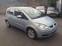 mitsubishi colt equippe 1.3 petrol! 54-plate! 12mths mot! 120,000 miles! excellent runner!!!