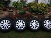 "16"" Brand new facelift model alloy wheels"