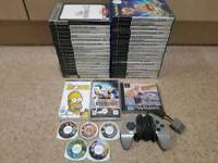 Bundle of Games PS2, PS1, PSP and PS1 pad