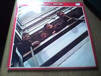 THE BEATLES 1962 - 1966 RED SLEEVE DOUBLE LP