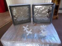 Glass bricks/blocks brand new
