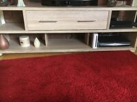 Tv cabinet and tall storage cabinet