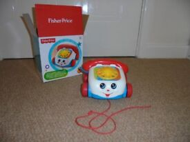 Fisher Price Telephone classic pull along.