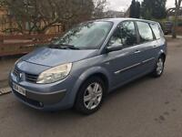 RENAULT GRAND SCENIC DYNAMIQUE DCI 6 SPEED 2004 7 SEATER 1.9 DIESEL LONG MOT BARGAIN