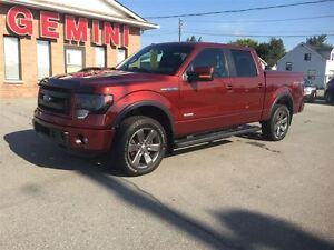 2014 Ford F-150 FX4 Navi Leather 20's