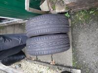 Tyres brand new.