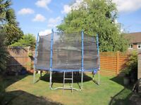 14ft Trampoline. Exceptionally large in very good condition