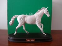 John Beswick - The white horse sculpture of One Man a collectors piece