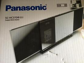 NEW Panasonic slim compact sterio iPod system