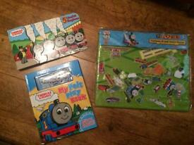 Thomas and Friends board book, My Felt play book and felt and story board