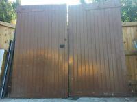 Garage Doors - Fantastic quality (ledged and braced)
