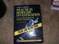 Practical Homicide Investigation Fourth Edition by Vernon J Geberth Large Hardback