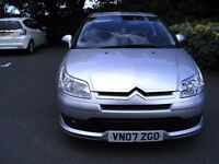 2007 Citroen C4 VTR+ 1.6HDI manual .Part service history + cambelt kit & clutch renewed