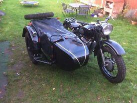 Motorcylce Classic M-72