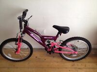 Girls Mountain Bike - 6-8 years old